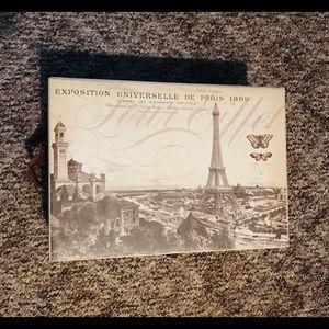 Paris theme keepsake box